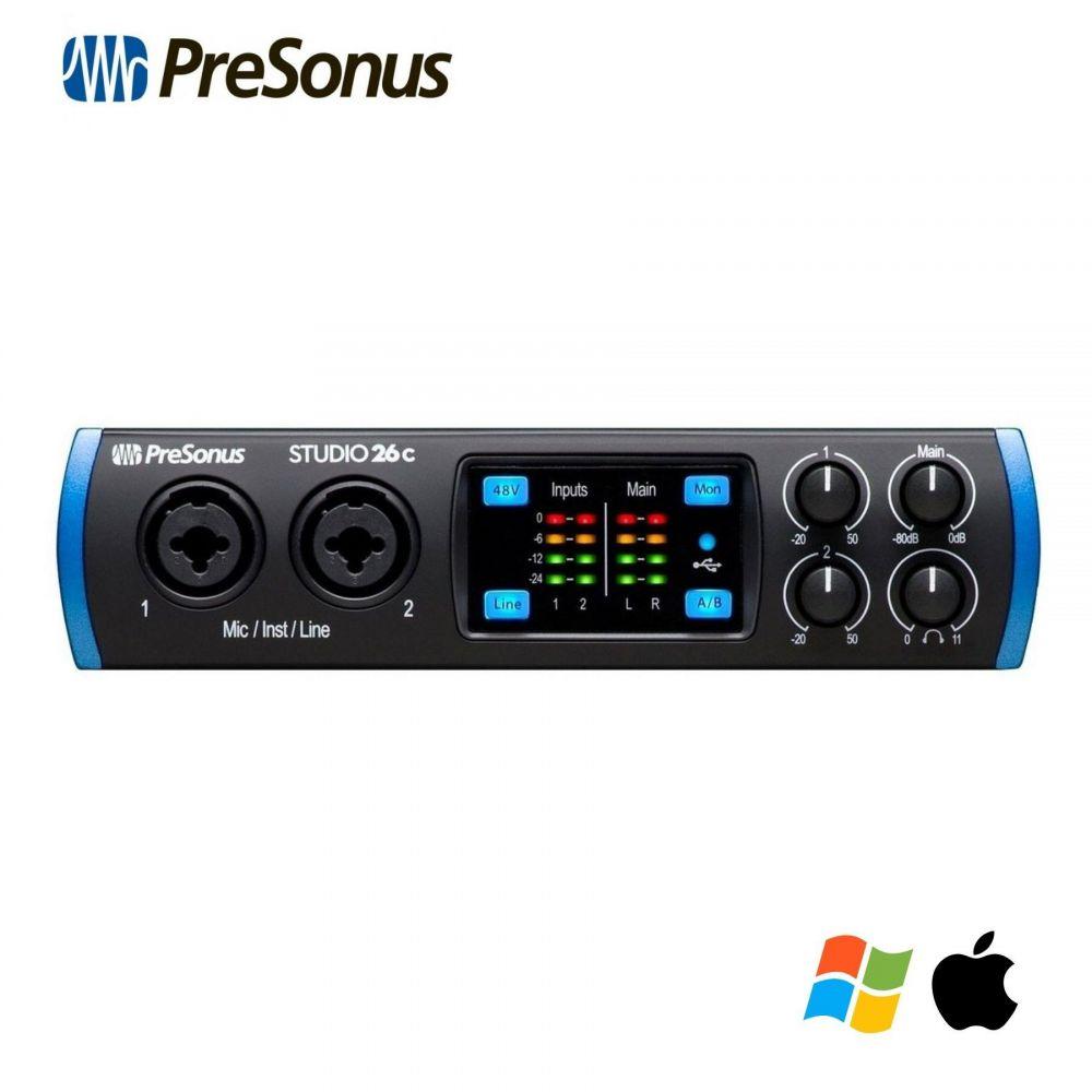 Scheda Audio Presonus STUDIO 26C 2in 4 out