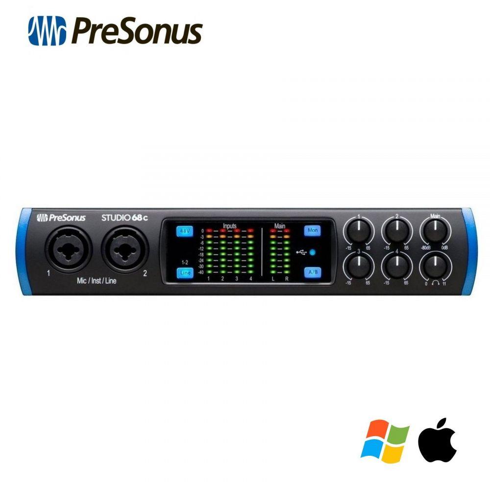 Scheda Audio Presonus STUDIO 68C 6 in 6 out