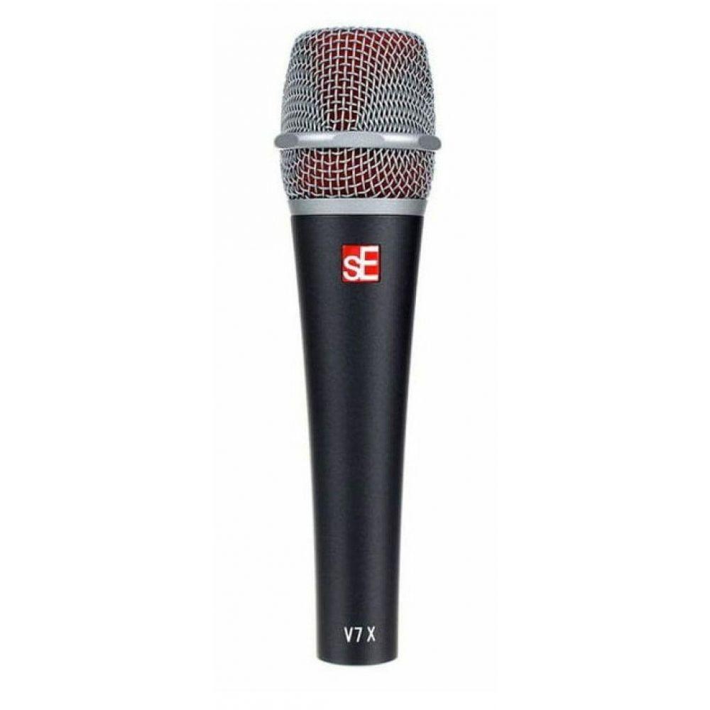 Se Electronic V7 X microfono dinamico supercardioide grigio