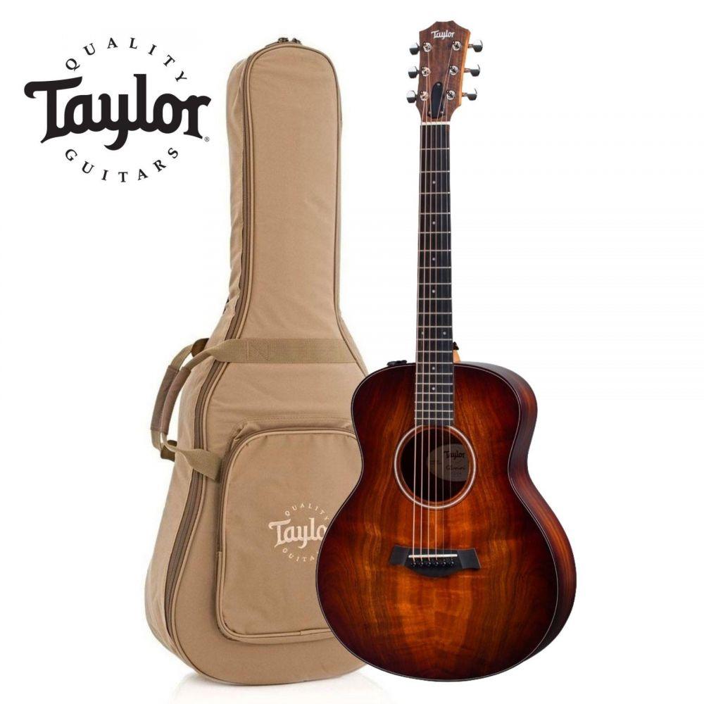 Chitarra Acustica Elettrificata Taylor GS Mini-e koa Plus con borsa