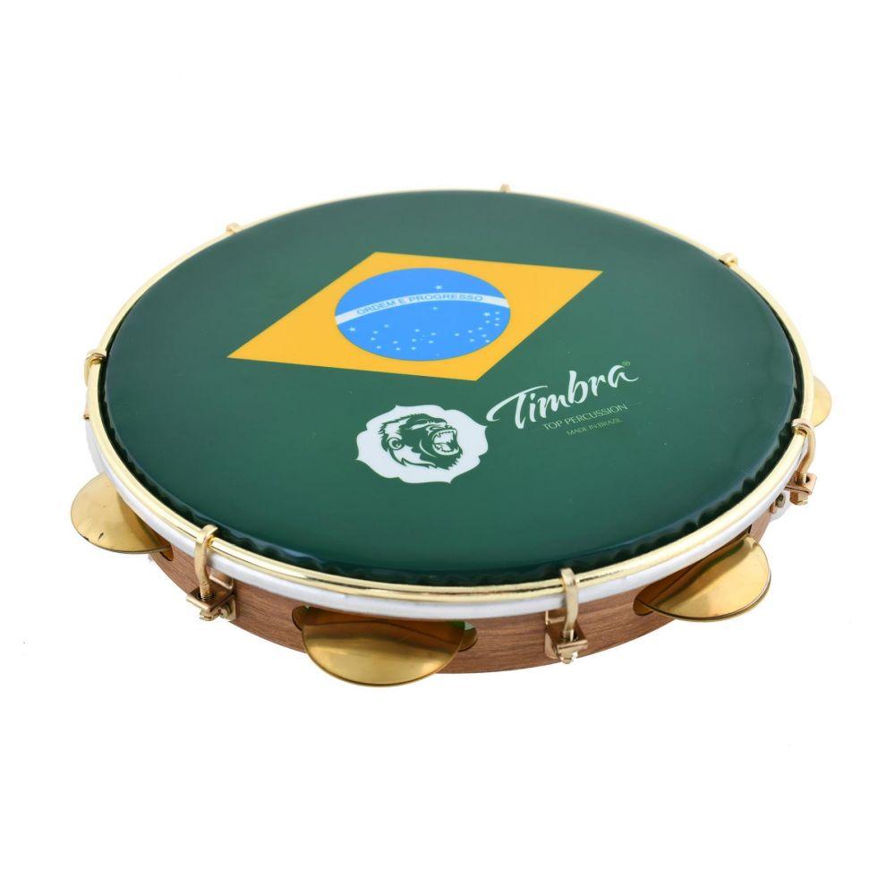 Pandeiro Timbra 8677EX 25cm Brasil