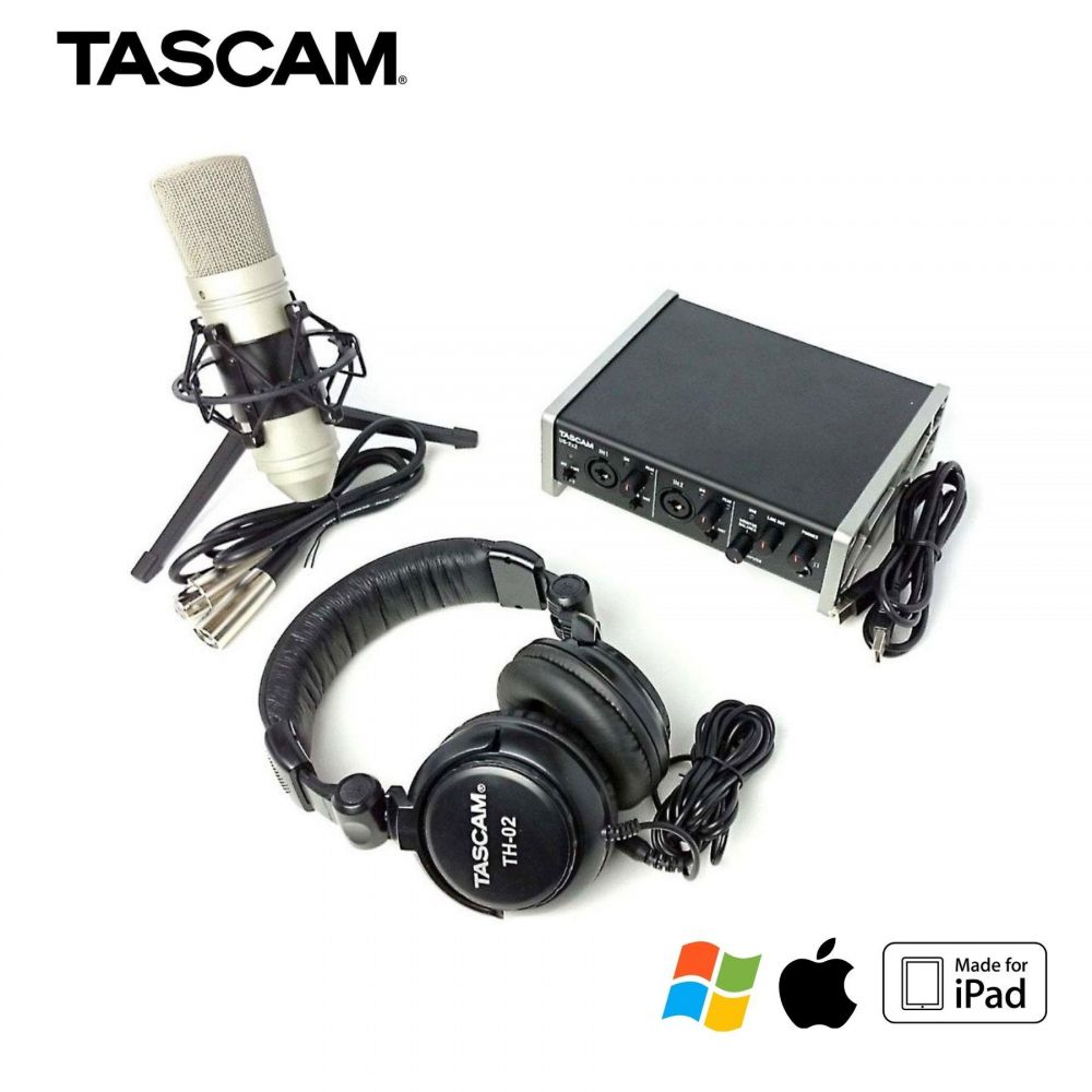Tascam US2X2 TRACKPACK