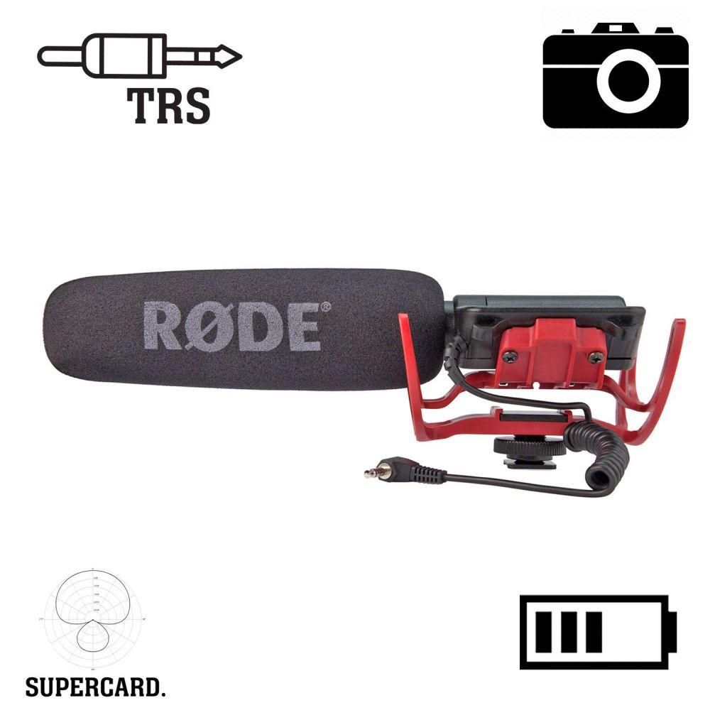Microfono videocamera Rode VideoMic Rycote condensatore