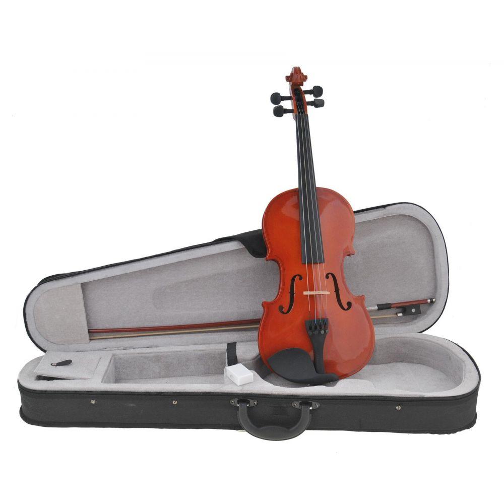 Violino 1/2 Damon Studio 1 laminato con custodia e arco pronto all'uso