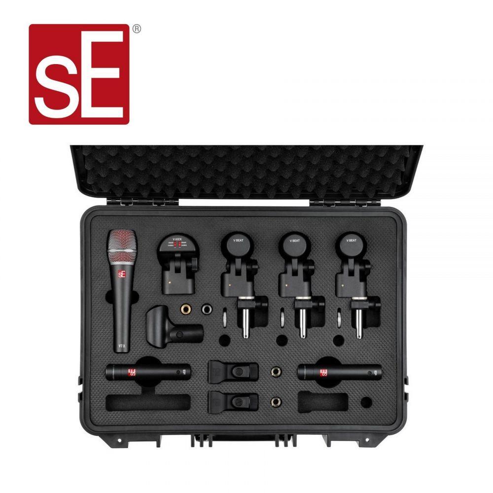 Set Microfoni SE Electronics 7pz V PACK ARENA