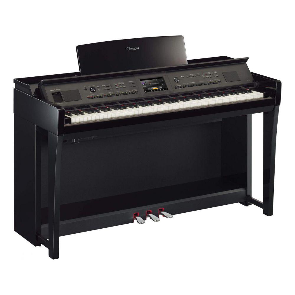 Piano Digitale Yamaha CVP805PE con mobile nero lucido