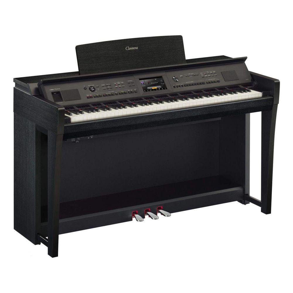 Piano Digitale Yamaha CVP805B con mobile nero opaco
