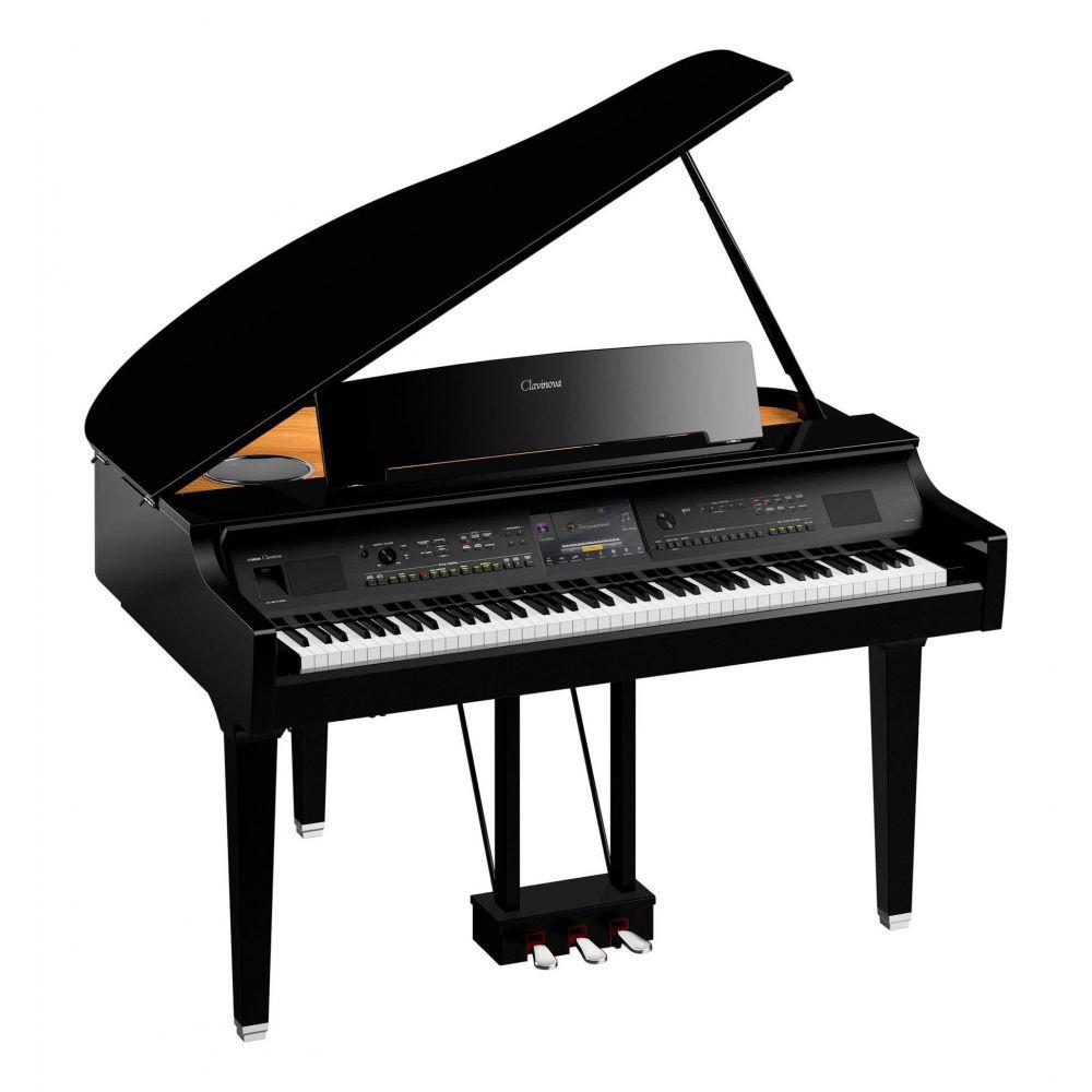 Piano Digitale Yamaha CVP809GP a coda nero lucido