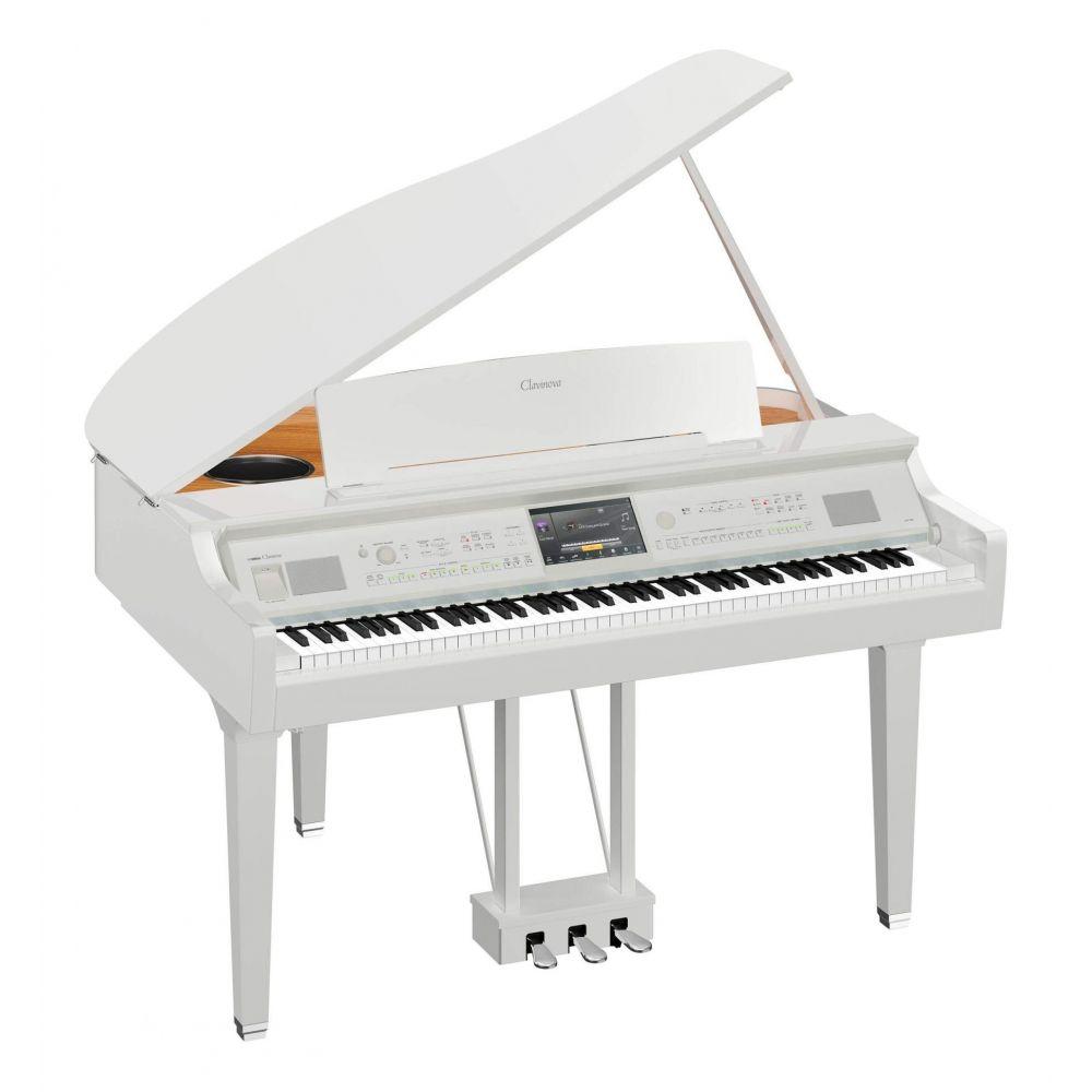 Piano Digitale Yamaha CVP809GPWH a coda bianco lucido