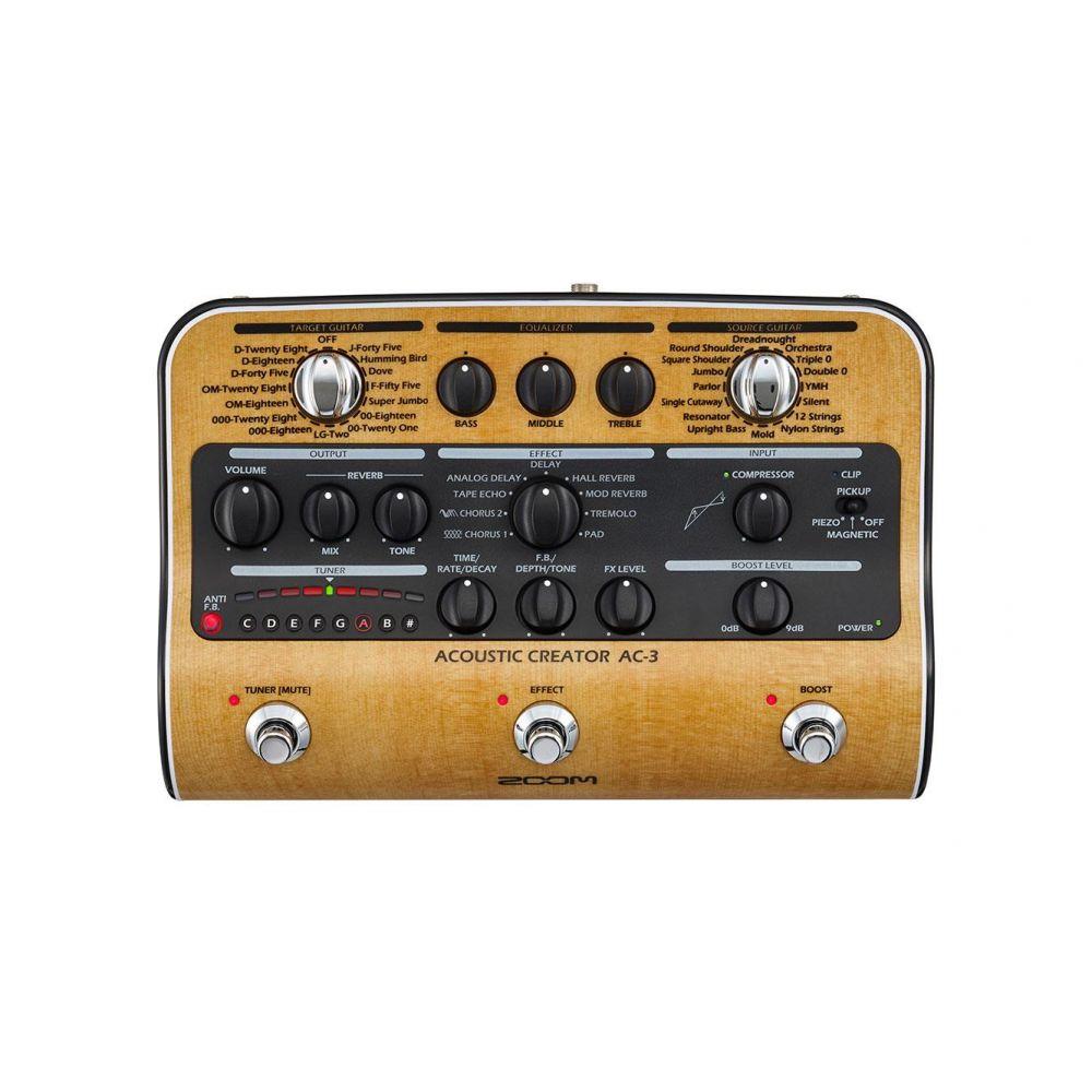 Multieffetto Chitarra acustica Zoom AC-3