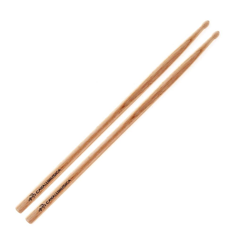 Bacchette CavalliMusica 5A frassino punta legnoBacchette CavalliMusica 5A frassino punta legno