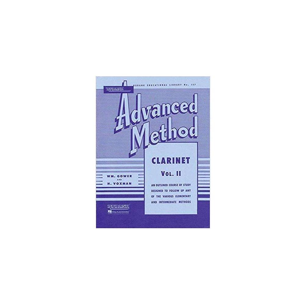 Voxman Gower Advanced Method Clarinet 2  Rubank