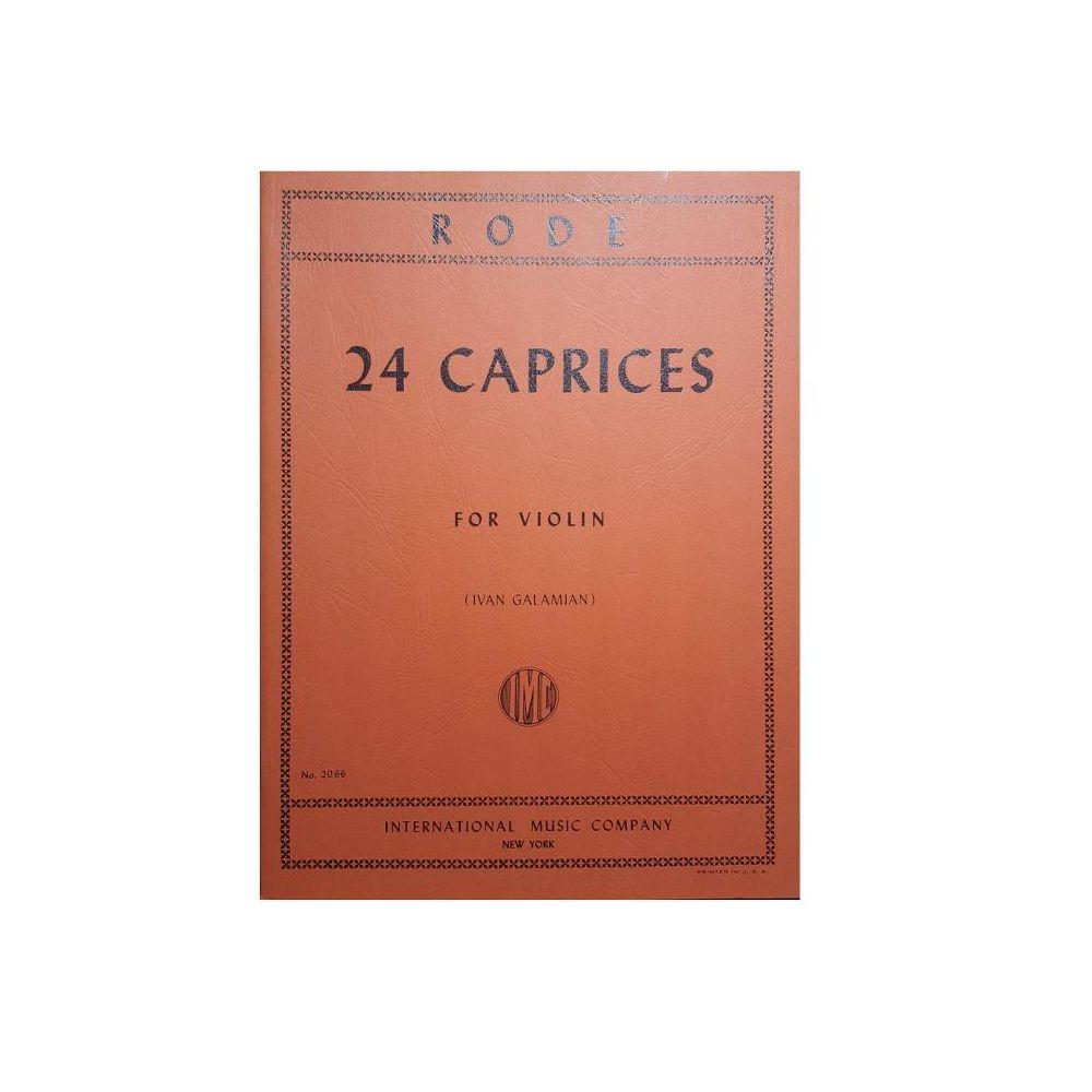 Rode 24 Capricci per Violino