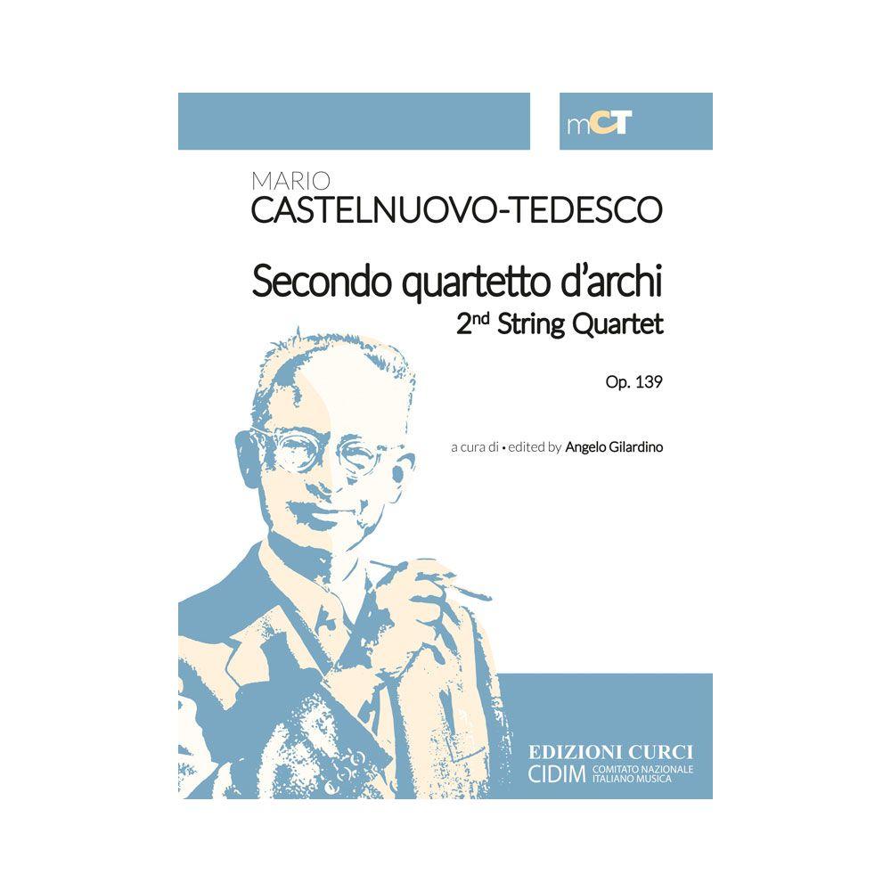 Castelnuovo-Tedesco Secondo quartetto d'archi Op.139