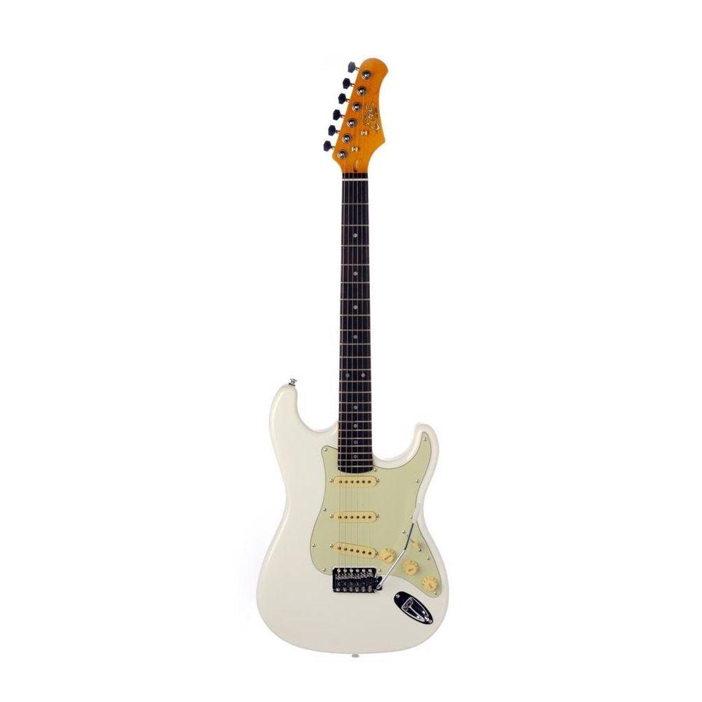 Eko S-300 chitarra elettrica vintage olympic white