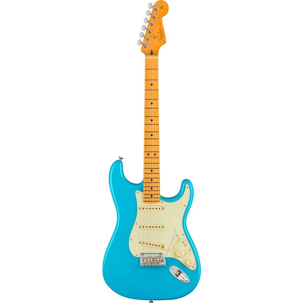 Chitarra Elettrica Fender American Professional II Stratocaster mn miami blue con custodia