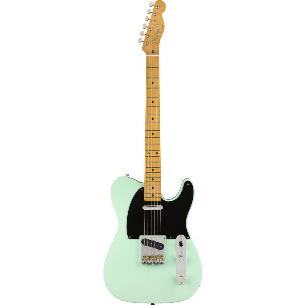 Chitarra Elettrica Fender Vintera 50s Telecaster Modified mn surf green con custodia