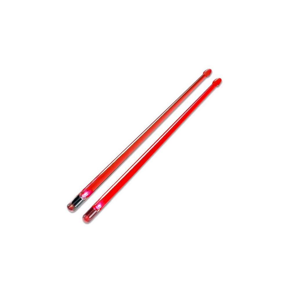 Bacchette Firestix in plastica red
