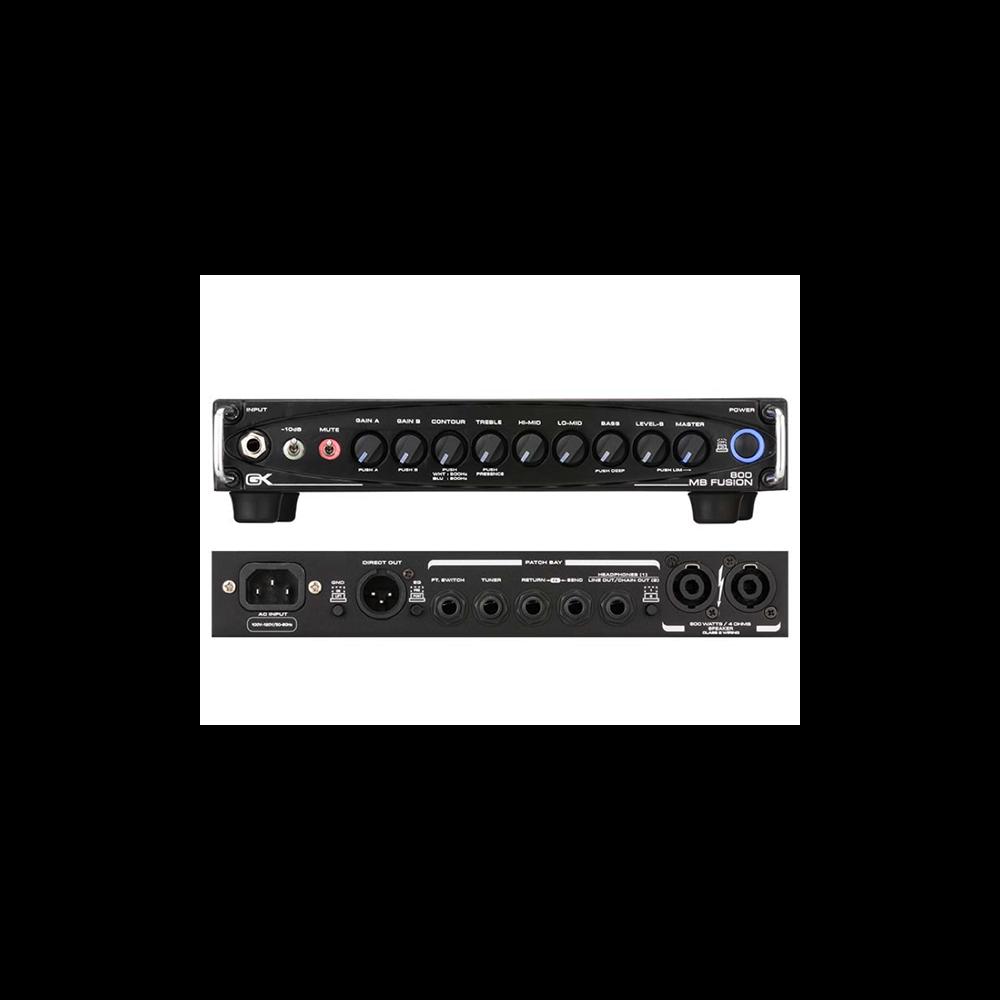 Testata GK MB800 Fusion 800w 4ohm