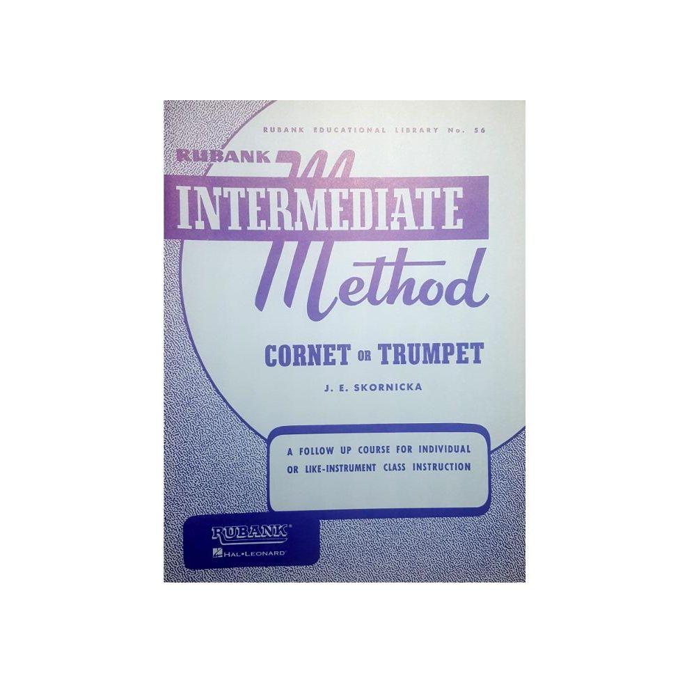 Skornicka Intermediate Method Cornet Or Trumpet Rubank