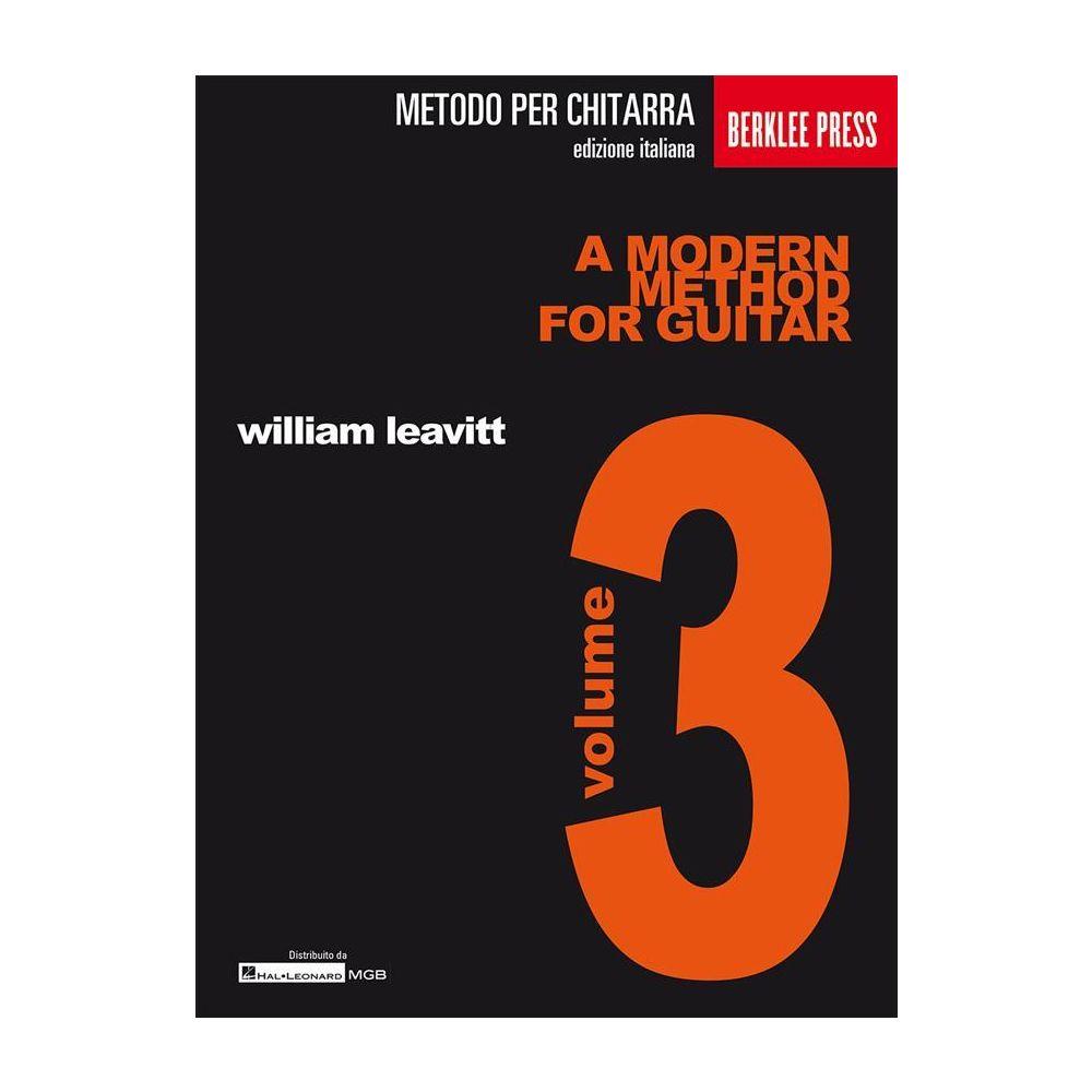 Leavitt A Modern Method for Guitar 3 Ed. Italiana