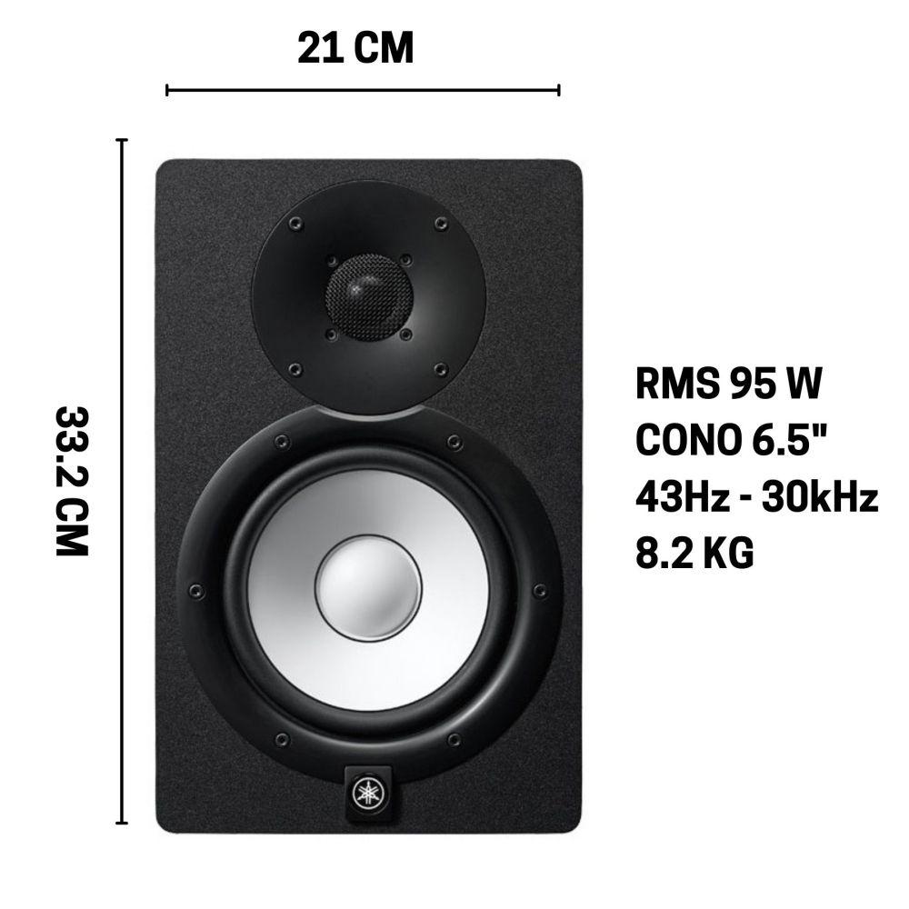 "Monitor Yamaha HS7 - 7"" 95W"