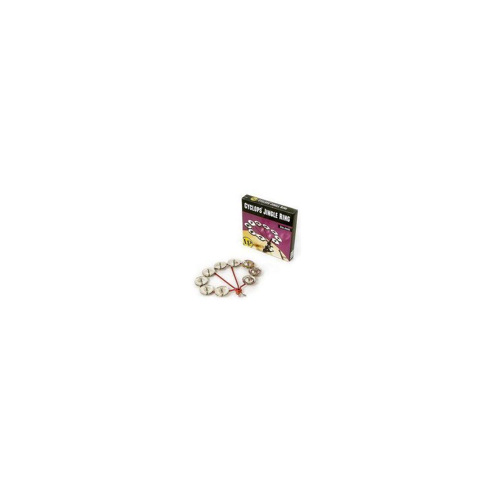 Cembalo LP191 Jingle Ring montabile 9 coppie piatti acciaio
