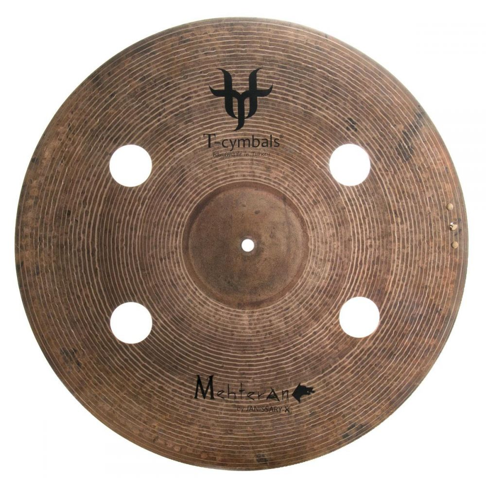 """Piatto T-Cymbals 20"""" Janissary-x Mehteran"""