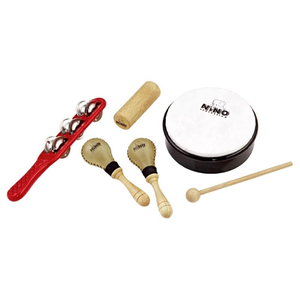Set percussioni didattiche Nino SET1 con borsa