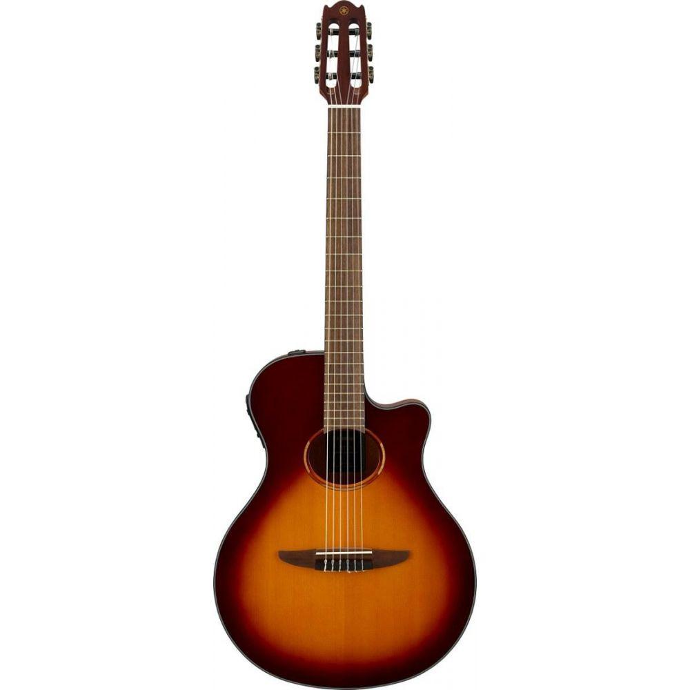 Chitarra Classica Elettrificata Yamaha NTX1BS brown sunburst
