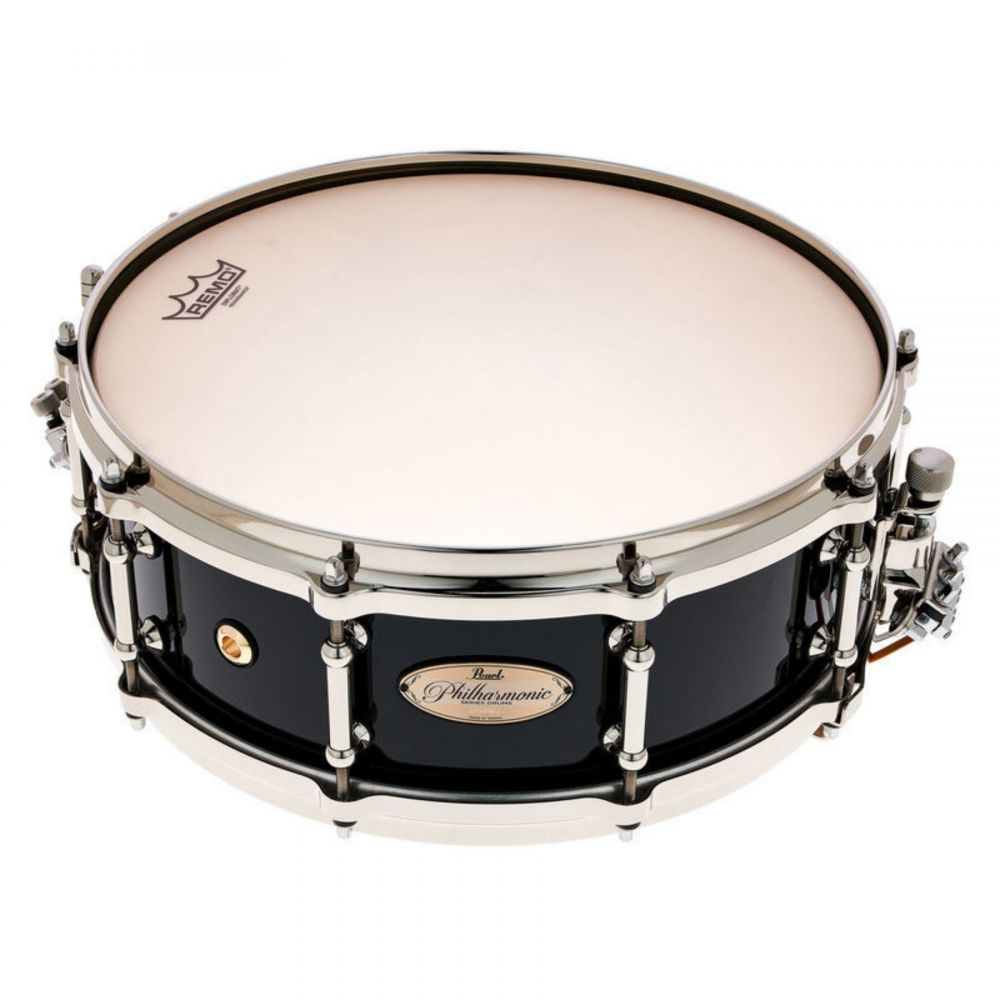 """Rullante Pearl 14"""" x 5"""" Philharmonic 8-Ply Concert Maple PHP1450/N103 piano black"""