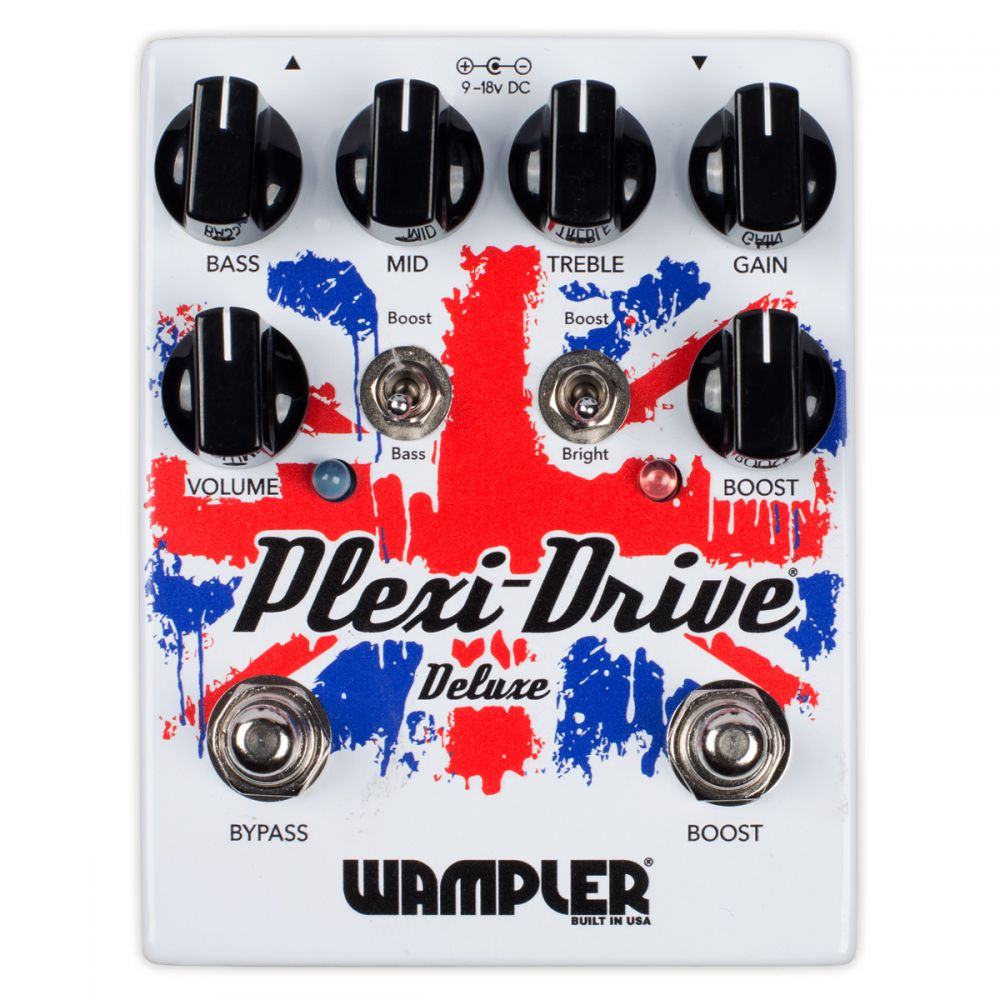 Pedale overdrive Wampler PLEXI-DRIVE DELUXE
