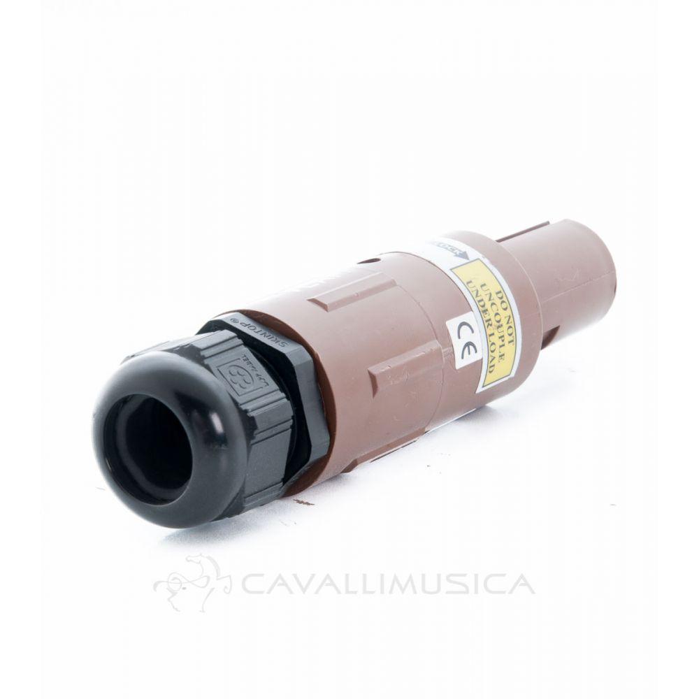 Connettore Veam Power Lock L1 femmina