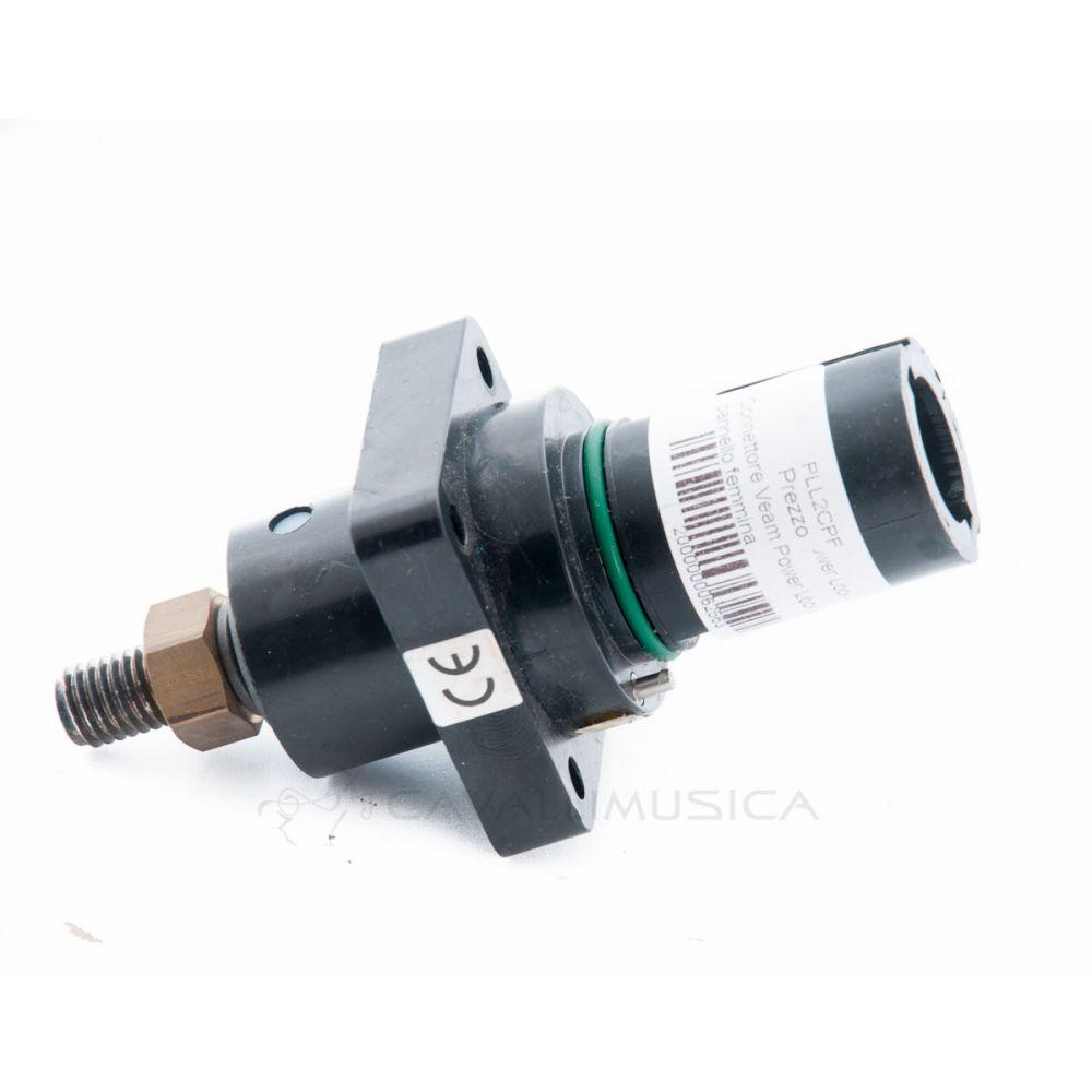 Connettore Veam Power Lock L2 da pannello femmina