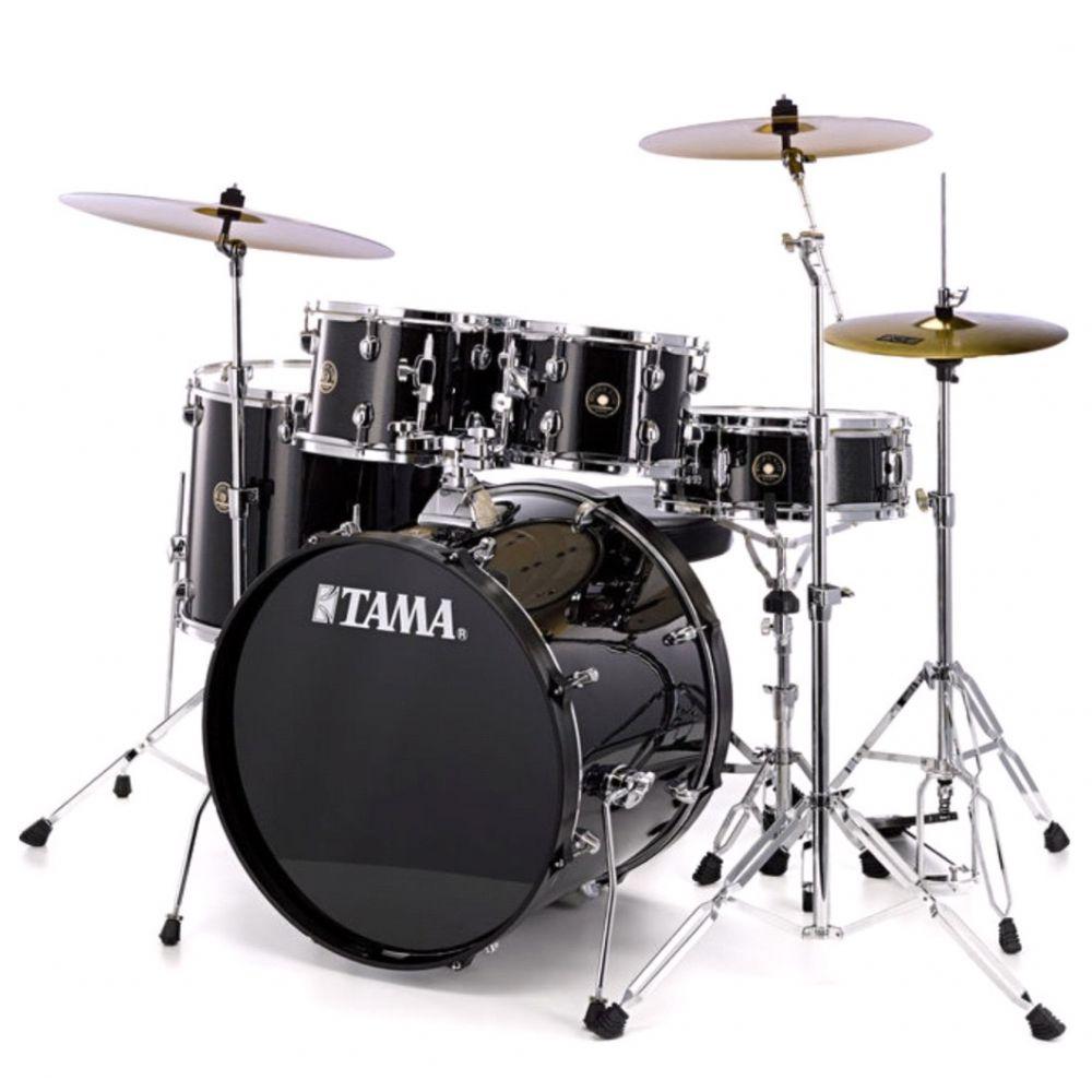 """Batteria Tama Rhythm Mate 20"""" Hardware Piatti e Sgabello Charcoal Mist"""