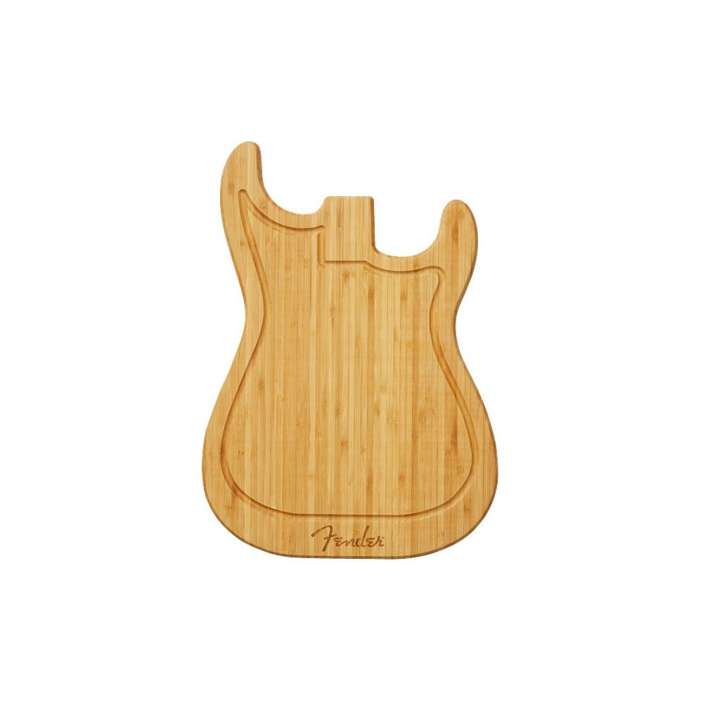 Fender Stratocaster tagliere bamboo