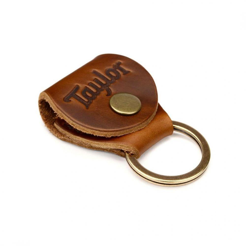 Portaplettro portachiavi Taylor TKR-03 medium brown