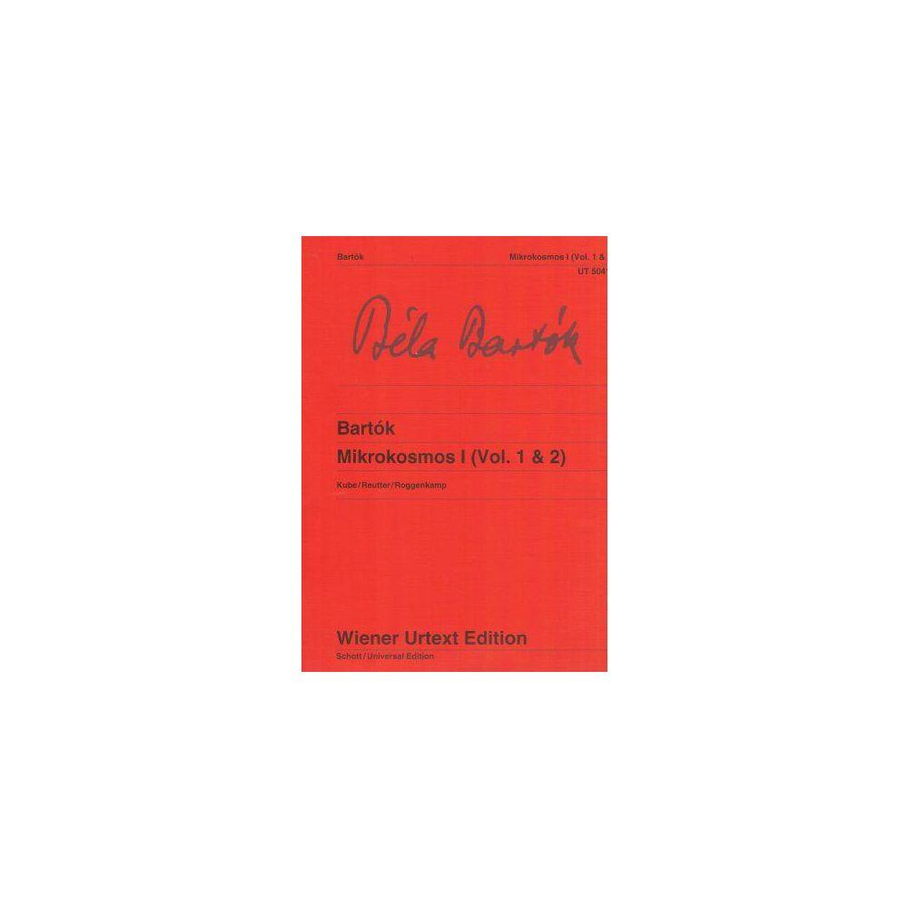 Bartok Mikrokosmos I Vol. 1 e 2 Ed. Wiener Urtext