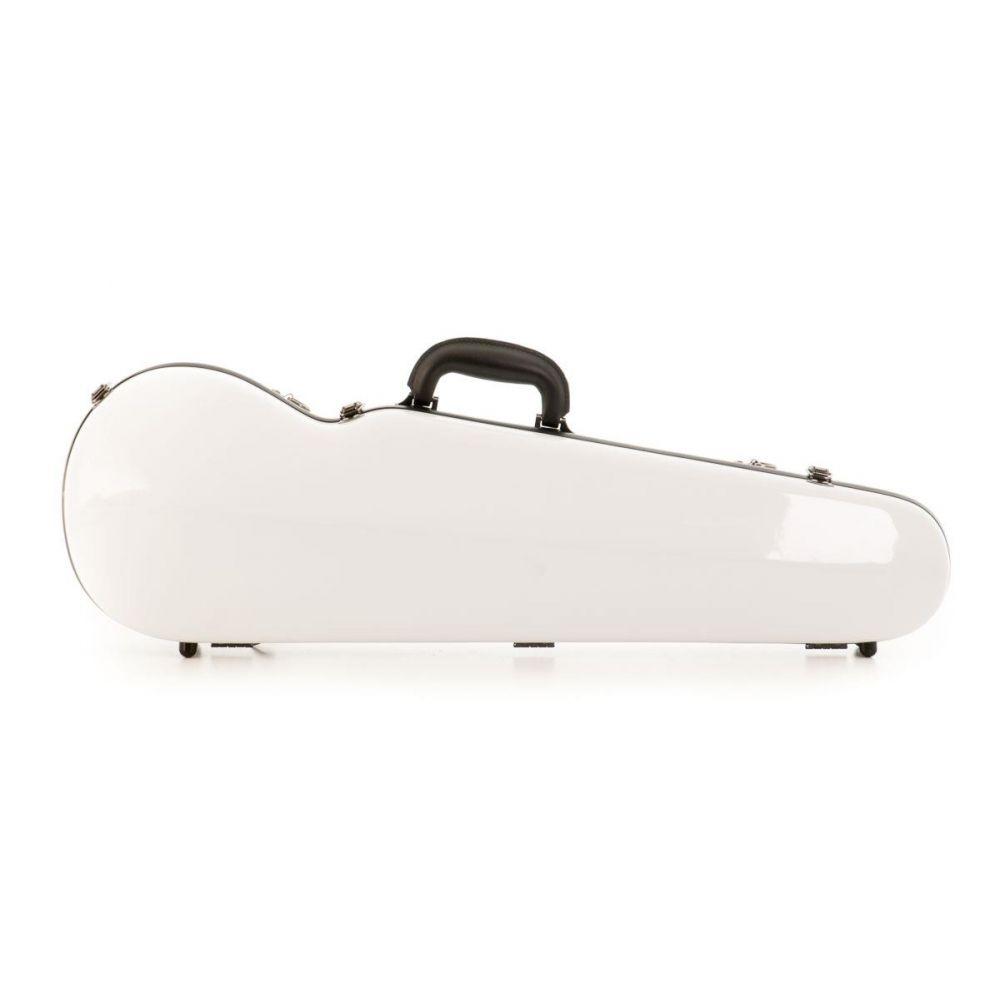 Astuccio Violino Pizzicato carbonio 1,4 kg bianco