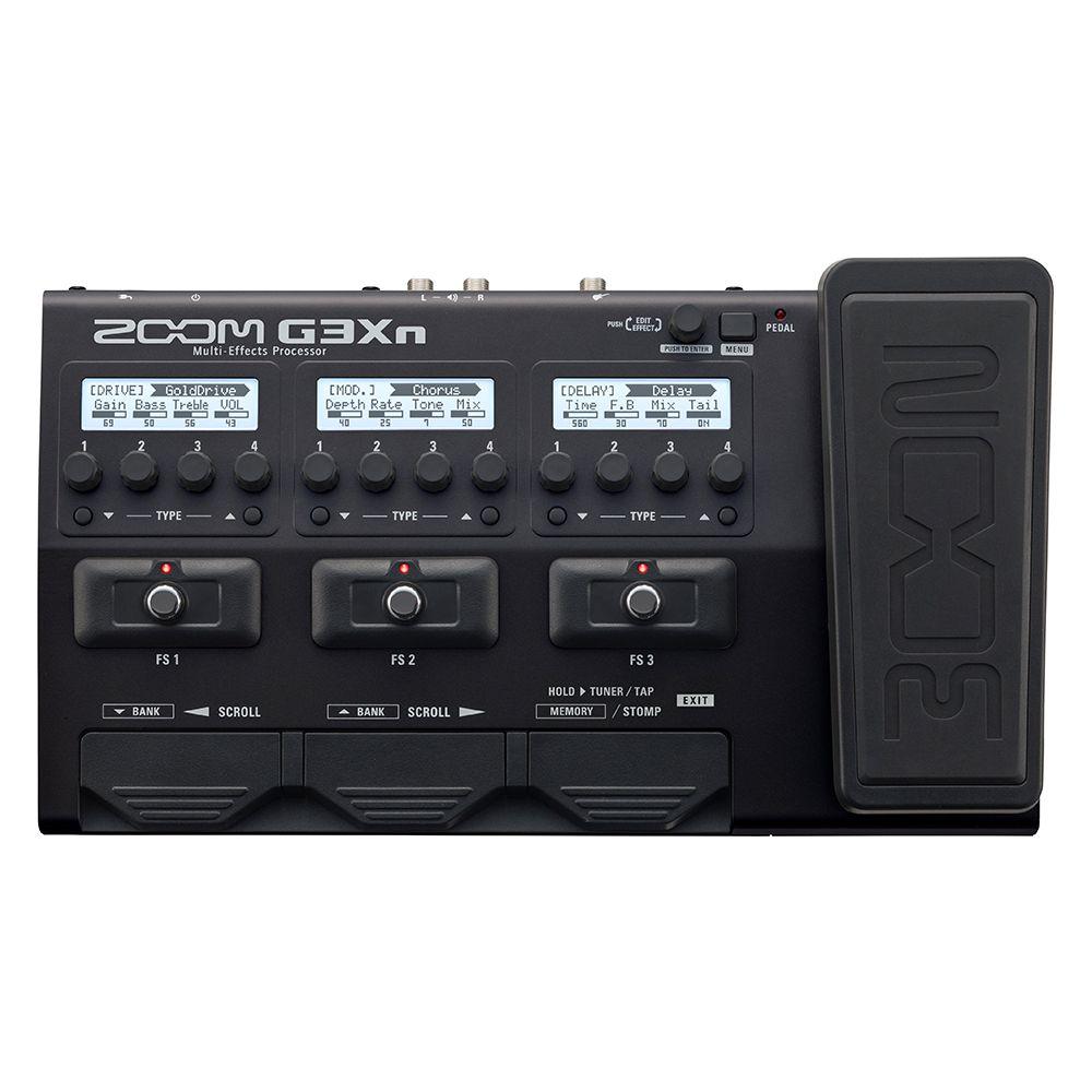Multieffetto Zoom a pedale per chitarra G3XN