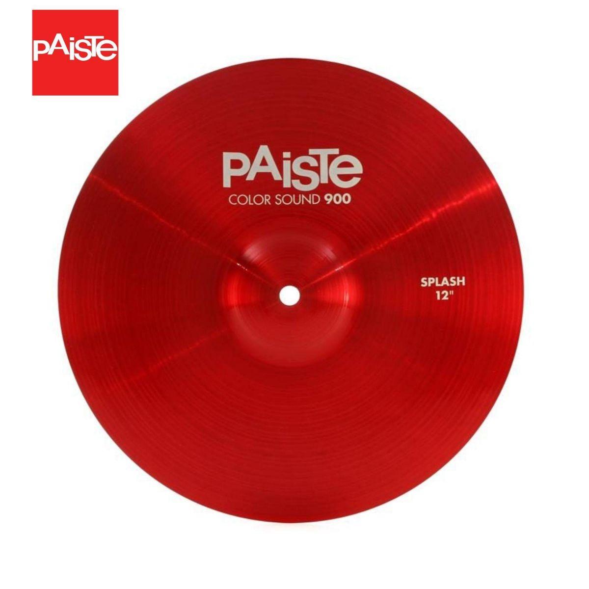 "Piatto Paiste 12"" 900 Color Sound Splash red"