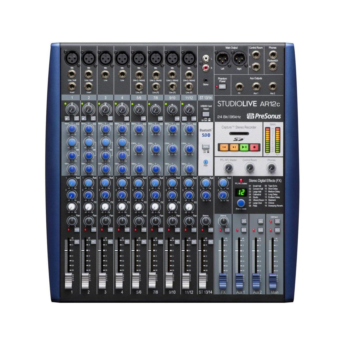 Mixer Presonus Studiolive AR12C Hybrid usbC