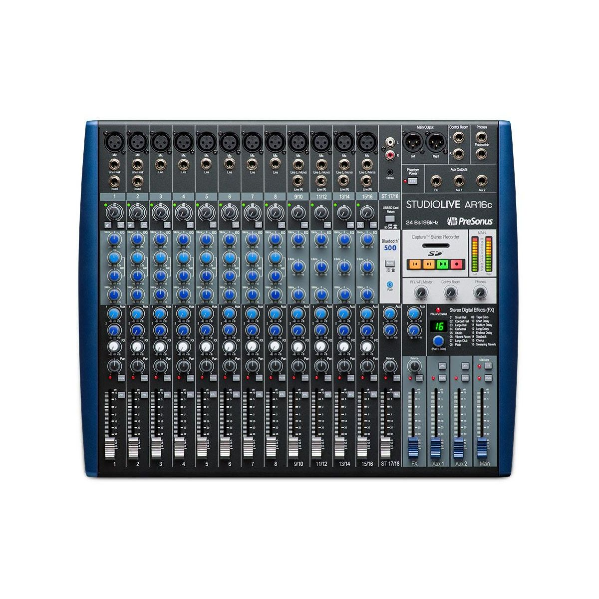 Mixer Presonus Studiolive AR16C Hybrid USB-C