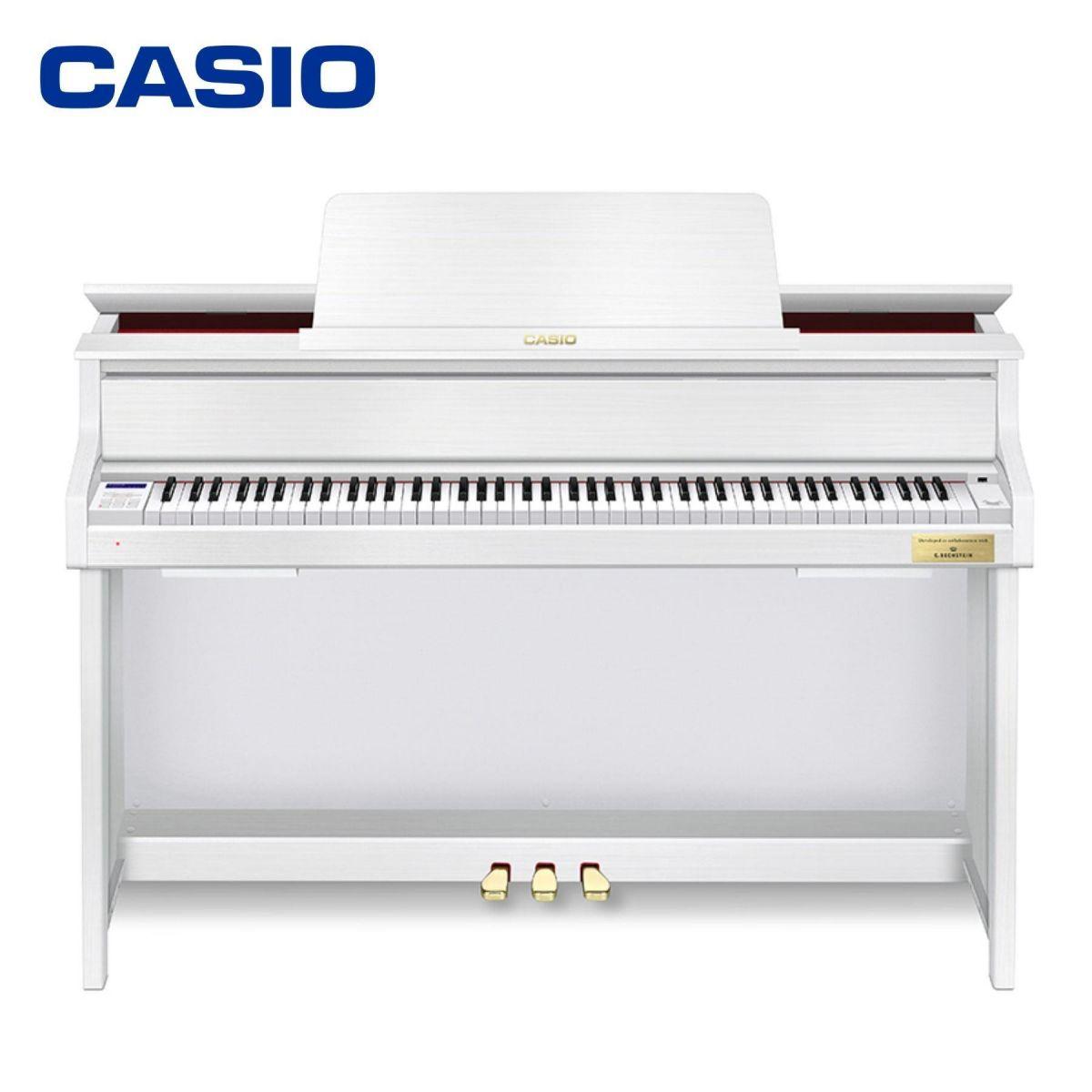 Piano Digitale Casio GP-310 Grand Hybrid con mobile bianco opaco