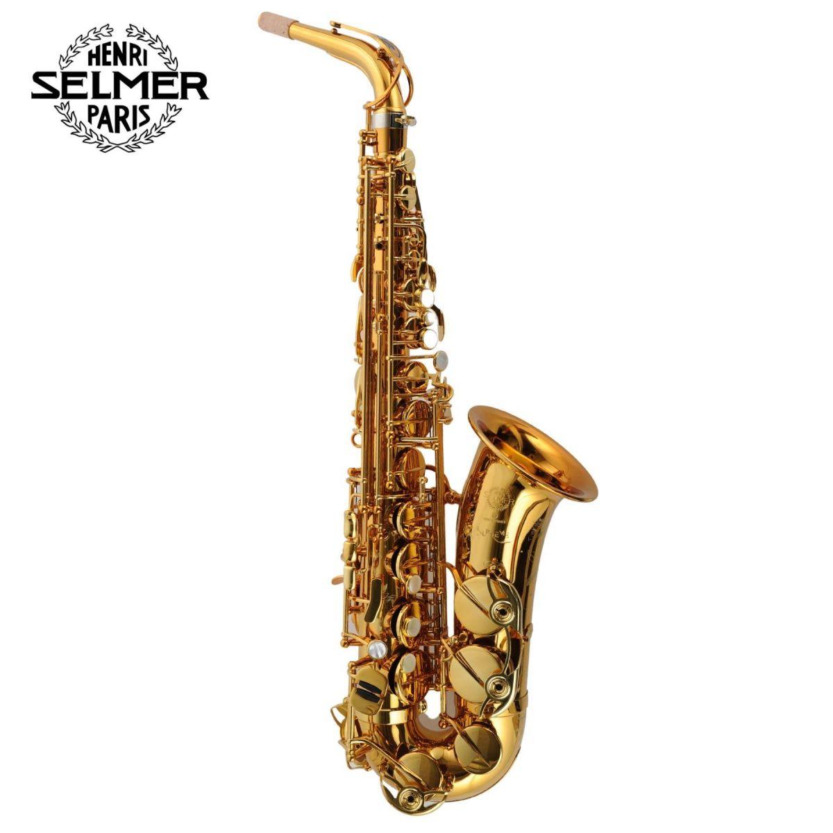 Sax Alto Selmer Supreme dark gold con borsa e accessori