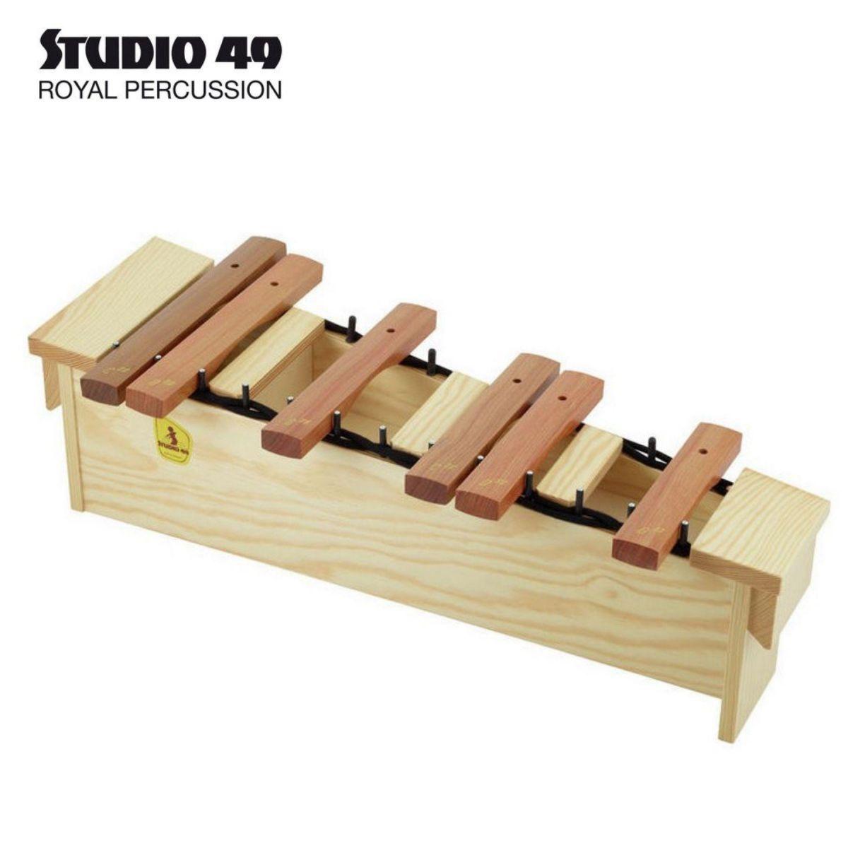Semitoni xilofono soprano Studio49 H-SXG2000 in Grillodur supplemento per Xilofono soprano