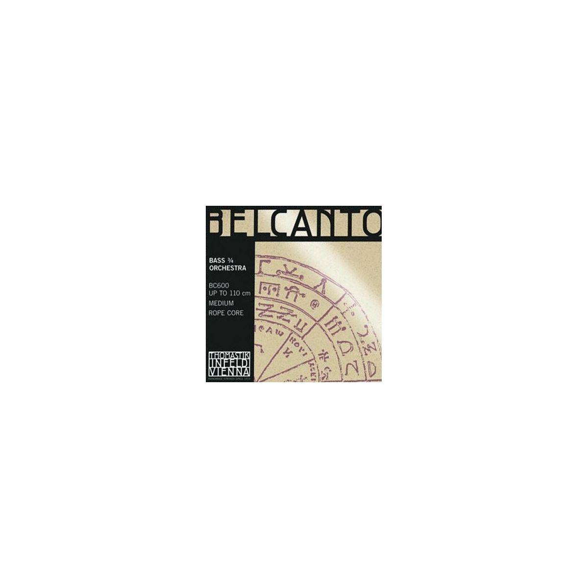 Corde Contrabbasso Thomastik Belcanto Orchestra SET 3/4
