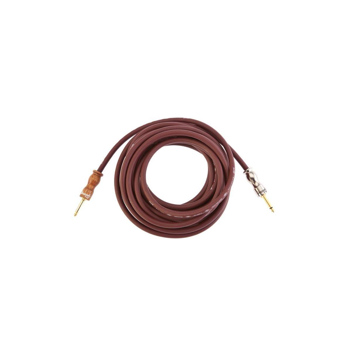 Cavo Jack/Jack 7,5 mt Gibson  colore cherry