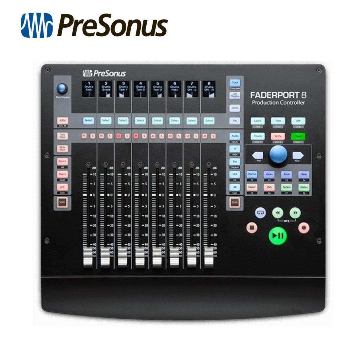 Controller Presonus Faderport 8 usb