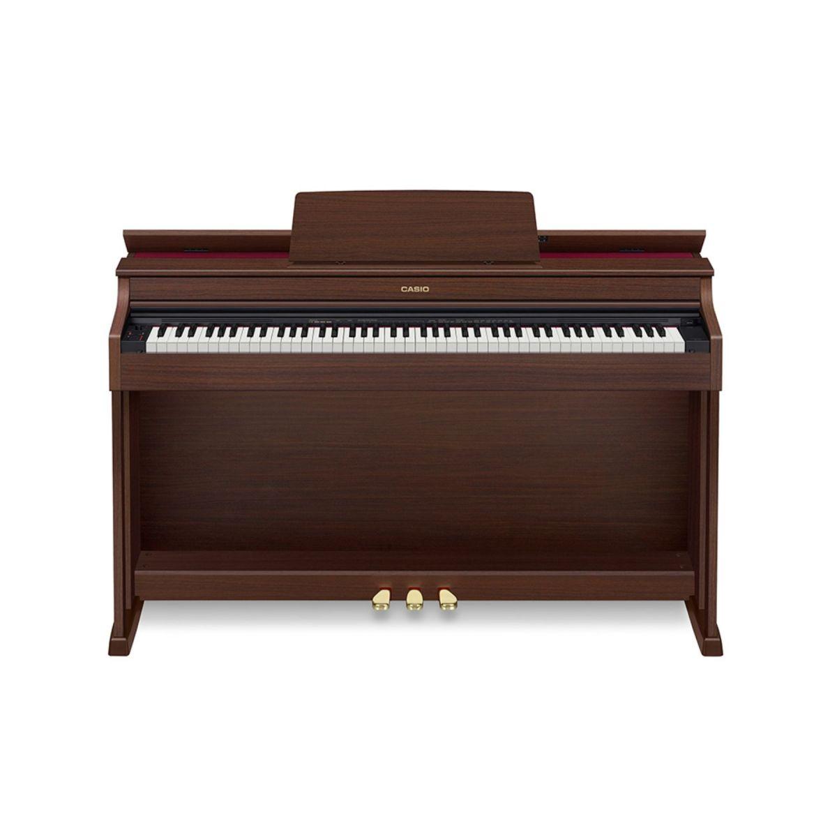 Piano Digitale Casio Celviano AP470 BN con mobile marrone opaco